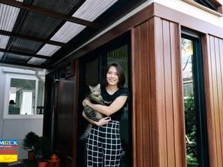 ฐานรากบ้านน็อคดาวน์แมว คุณธนานิษฐ์ โดย บริษัทเข็มเหล็ก จำกัด