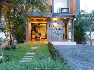 บ้านพักตากอากาศ ชลบุรี โดย homify โมเดิร์น