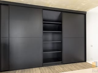 PPHU BOBSTYL Dressing roomWardrobes & drawers MDF Black