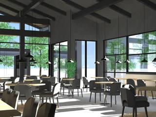 Restaurant PACA : Bars & clubs de style  par Les Ateliers d'Archietcure Guillaume Pujol