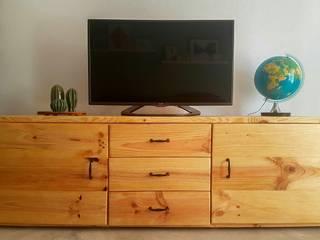 Mueble TV - Junin de Mideco Rústico