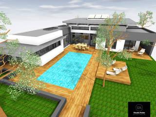 Construction d'un logement individuel de 225 m² par Agence PULIDO Moderne