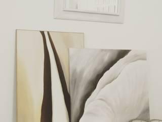 Decorazioni d'interni Laura Conti ArteImmagini & Dipinti Canapa / Iuta Bianco