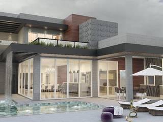 Casa JK: Casas  por Janine Girotto Arquitetura,Moderno