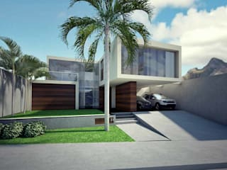 Residência no Condomínio Portal do Sol Casas modernas por RENATO MELO | ARQUITETURA Moderno