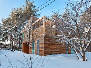 Дом #1 Дома в скандинавском стиле от DK architects Скандинавский