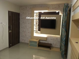 Kriti Associates / girishsdesigns:  tarz Koridor ve Hol