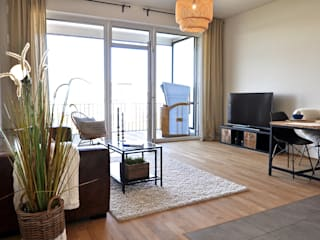 Karin Armbrust - Home Staging Industrial style living room