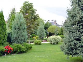 Сад в средиземноморском стиле от LENOTR-PARK