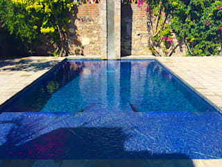 Terra Classic style pool Tiles Blue