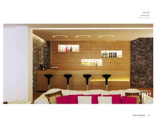 Tepeli İç Mimarlık – Sultan Makamı Konakları - Çengelköy: modern tarz Şarap Mahzeni