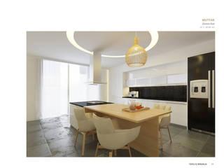 Keuken door Tepeli İç Mimarlık