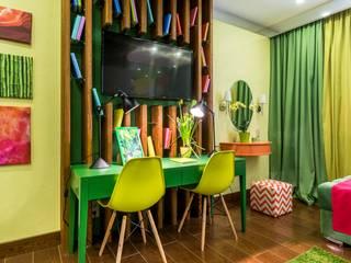 Солнечные джунгли: Детские комнаты в . Автор – Школа Ремонта, Эклектичный