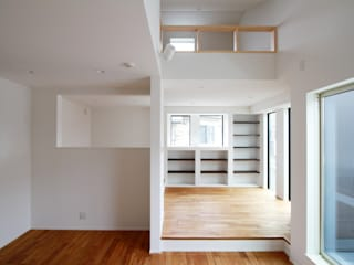 de estilo  por 株式会社ハウジングアーキテクト建築設計事務所