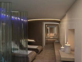 Wellness sul Canal grande: Spa in stile in stile Minimalista di GIUSTO ARCHITETTO