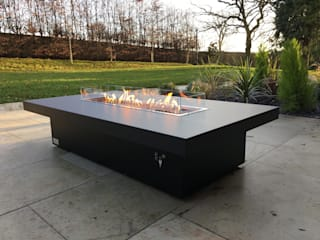 Vienna 180 Gas Fire Burner - Huntsmere de Rivelin Moderno