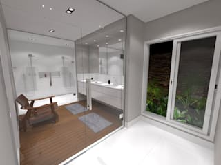 Minimalist bathroom by Jeffer Henrich Minimalist