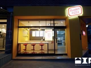 Monthly Pizza 야탑 : DESIGNSTUDIO LIM_디자인스튜디오 림의  주택