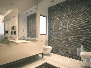 Master Suite, Luanda Casas de banho modernas por Porta Branca Moderno