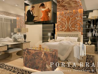 Classic style bedroom by Porta Branca Classic