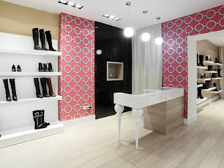 Lojas & Imóveis comerciais modernos por Nanni Giancarlo & C. Moderno