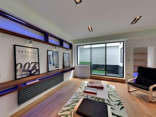 House Renovation and Extension in Fulham SW6 Modern Living Room by APT Renovation Ltd Modern