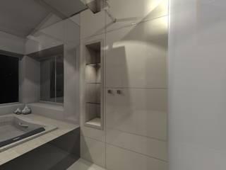 BANHEIRO SPA: Banheiros  por AFG Arquitetura e Interiores