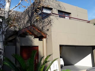 Diepenbrook residence renovation in Woodmead.:  Houses by Big A Contractors