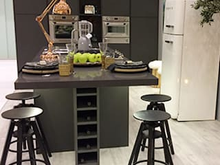 carla gago-interiores Modern kitchen