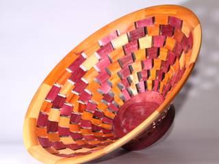 Centro de mesa segmentado:  de estilo  por TORNEARTE TALLER