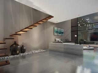 Corridor & hallway by nuk arquitech