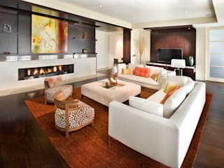 Lorna Gross Interior Design Living room White