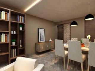 INTERIOR:  Dining room by Midas Dezign