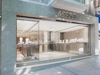 Edda İstanbul Proje Mimarlık – Assos Pırlanta:  tarz Ofisler ve Mağazalar