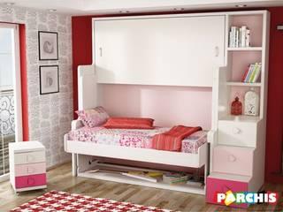 Muebles Parchis. Dormitorios Juveniles. QuartoCamas e cabeceiras