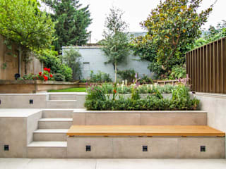 DE BEAUVOIR SQUARE: modern Garden by Bradley Van Der Straeten Architects
