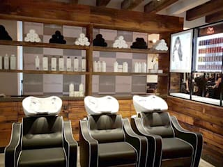 Affinity Salon Mumbai:  Commercial Spaces by Praxis Design & Building Solutions Pvt Ltd