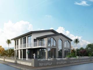 Sahilevleri Villa Projesi Modern Evler ACS Mimarlık Modern