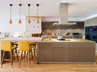 PRIVATE RESIDENCE - ISTANBUL Modern Kitchen by MERVE KAHRAMAN PRODUCTS & INTERIORS Modern