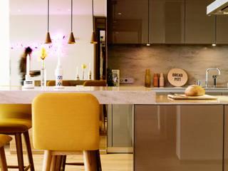 مطبخ تنفيذ MERVE KAHRAMAN PRODUCTS & INTERIORS, حداثي