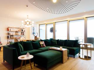 Modern Oturma Odası MERVE KAHRAMAN PRODUCTS & INTERIORS Modern