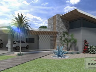 Rustic style house by PACKER arquitetura e engenharia Rustic