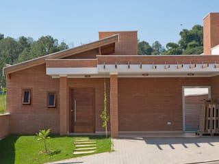 Projeto Casa Sustentável: Casas  por EKOa Empreendimentos Sustentáveis,Rústico
