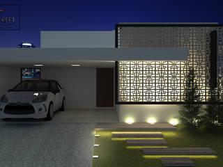 minimalistic Houses by PACKER arquitetura e engenharia