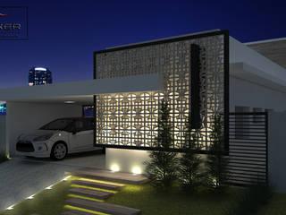 PACKER arquitetura e engenharia Casas de estilo minimalista