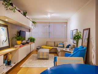 Apartamento Moema I - Zona Sul - São Paulo por Lorenza Franceschi Arquitetura e Design de Interiores