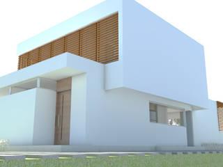 Casas de estilo moderno de Arquitecta Obadilla Moderno