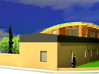 Sopraelevazione casa Cimato: Case in stile  di Antonio La Malfa architetto