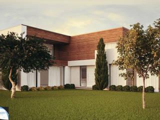 PORTIFÓLIO: Casas modernas por Gustavo Bispo designer Unipessoal LDA