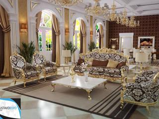 PORTIFÓLIO: Salas de estar clássicas por Gustavo Bispo designer Unipessoal LDA